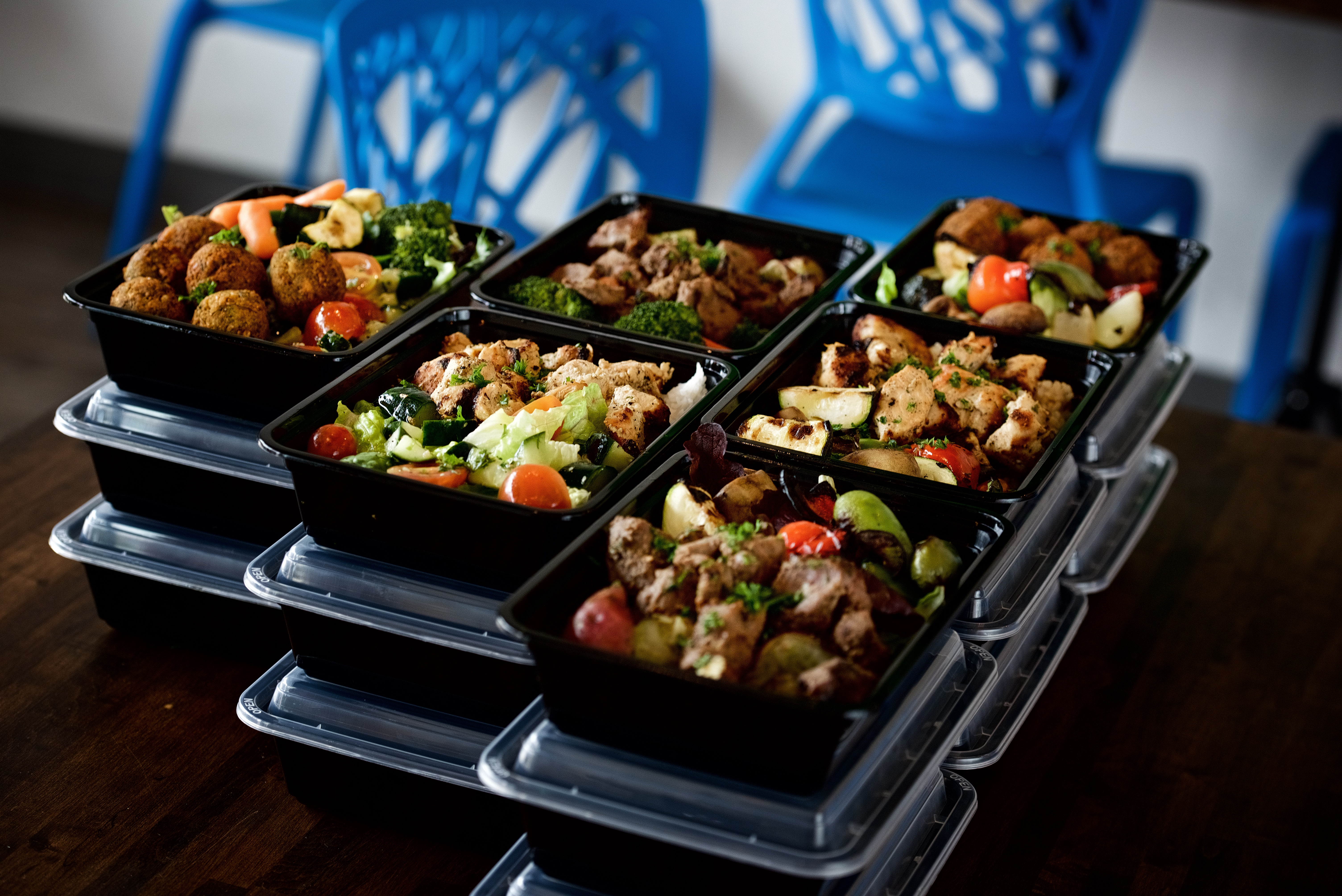 MEAL PREP that is made fresh.